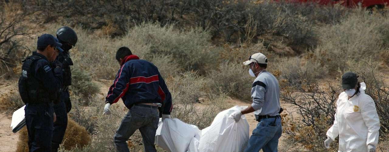 En otro macabro caso, al menos nueve osamentas humanas fueron localizadas en una fosa clandestina en el estado de Veracruz, el cual se encuentra inmerso en una intensa ola de violencia debido a la disputa de su territorio entre tres carteles de la droga.