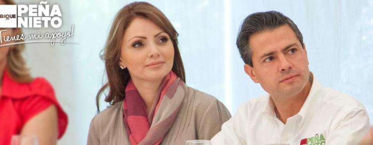 Ya desde antes de su enlace matrimonial, varios medios mexicanos anticipaban la posibilidad de que Rivera pudiera eventualmente convertirse en primera dama de México, a medida que Peña Nieto se iba perfilando como candidato presidencial por el PRI.