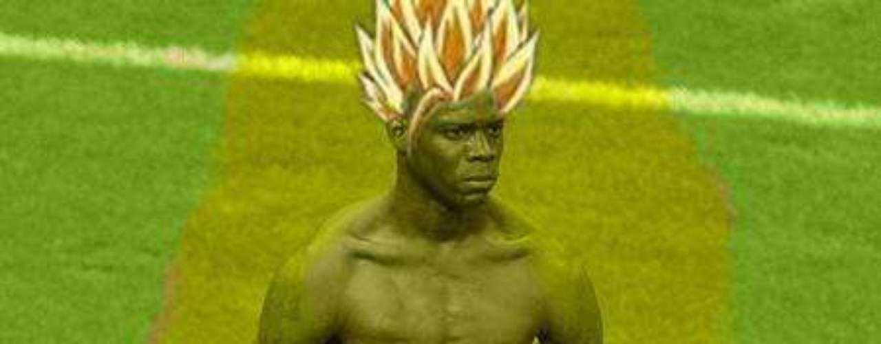 The Germans weren't doubting Balotelli's super powers after he scored two goals in the semifinal.