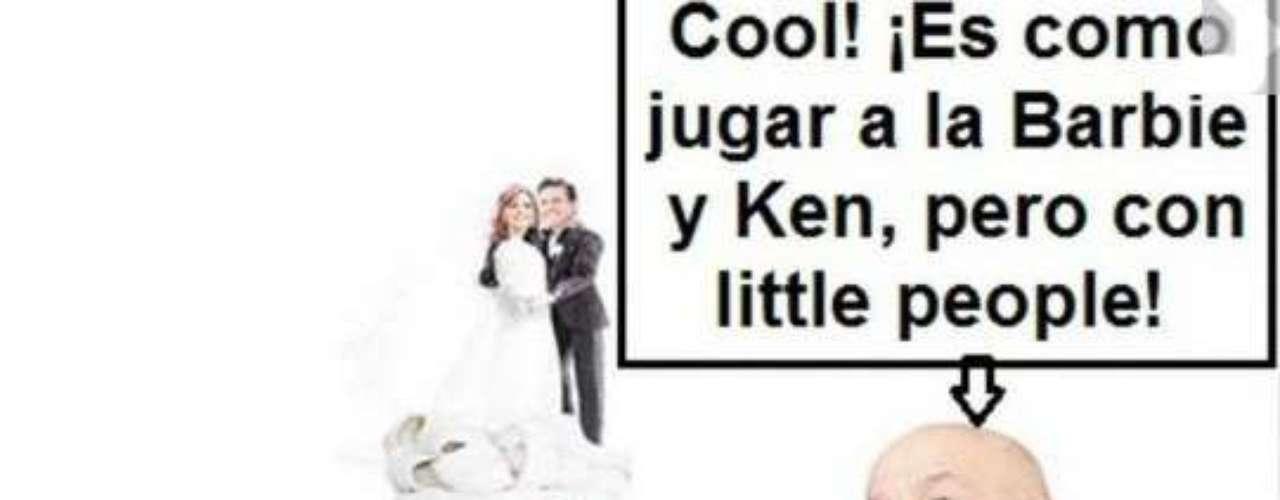 Aquí un usuario relaciona a Peña Nieto con el ex presidente de México, Carlos Salinas de Gortari. Este personaje ha sido muy polémico en el país.