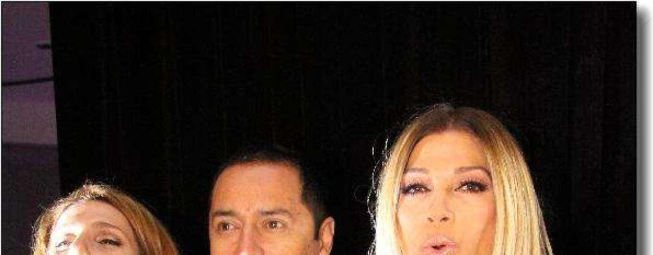 Fabian Medina Flores y Catherine Fulop, un toque de glamour y distinción.