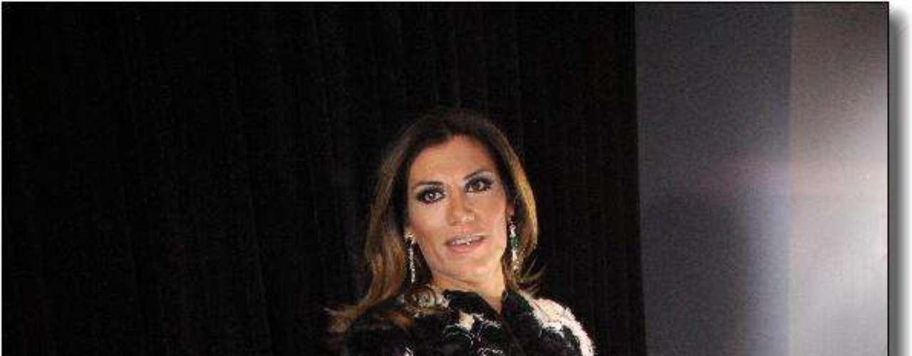 Florencia de la V, más elegante que nunca.