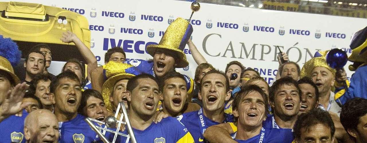 Con Riquelme regresó el buen juego a Boca. De la mano de Román, el equipo consiguió el campeonato de Apertura de la liga argentina en su edición del 2011.