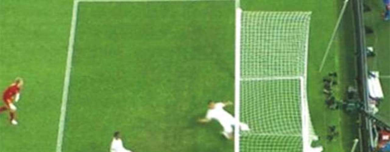 Gol fantasma de Devic en la Eurocopa 2012 en el partido Ucrania-Inglaterra