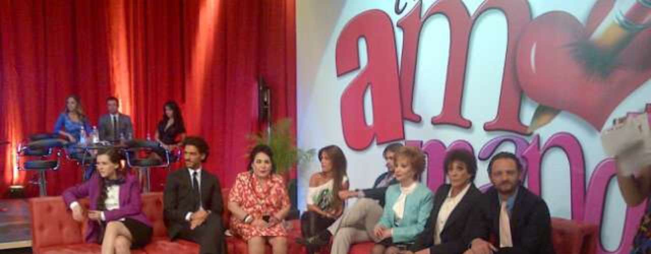 The casting was streamed live on the internet so telenovela lovers could see the process and a glimpse of this new production.