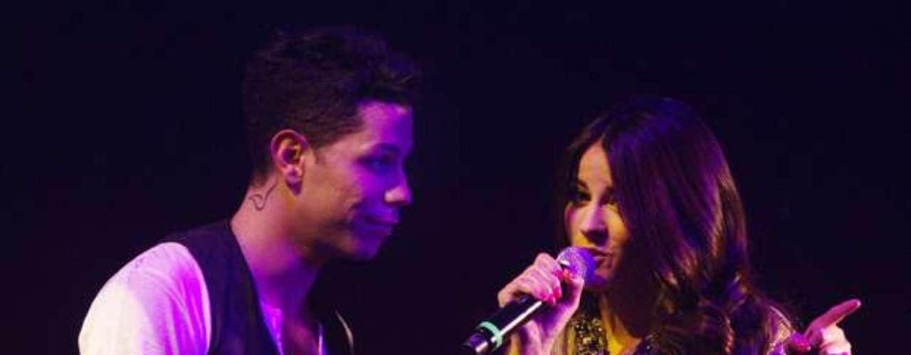 Los ex RBD cantaron juntos el tema \