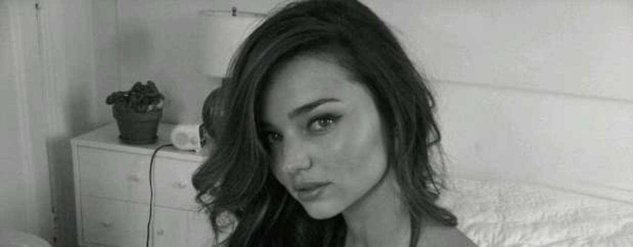 There's reason to be nervous when a bombshell like Miranda Kerr tweets this picture and message: \