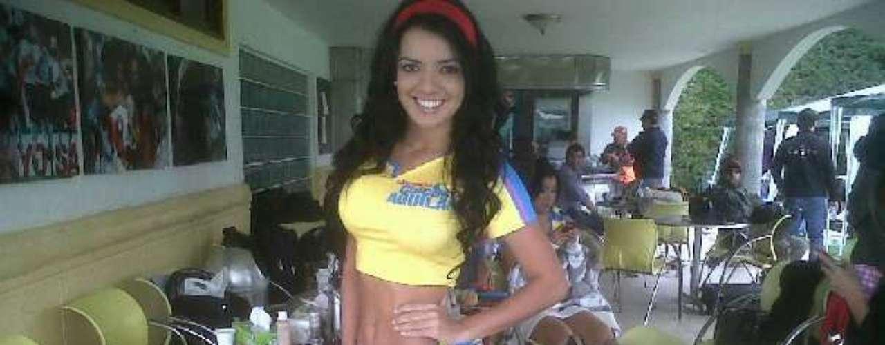Esta bella barranquillera también participó en el concurso chica Águila del 2011.