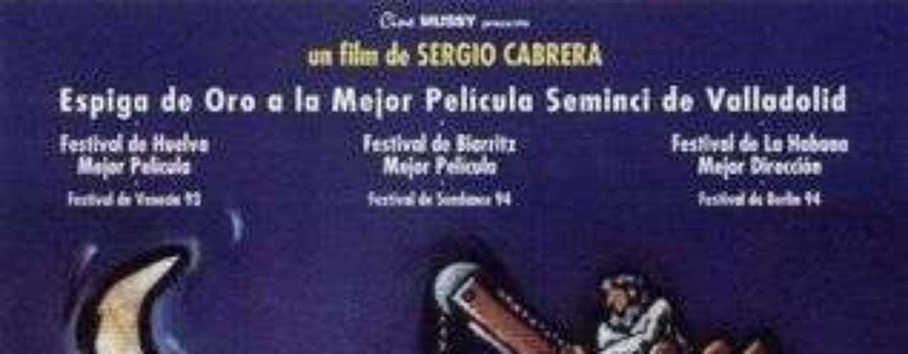 La estrategia del caracol – 1993. Grandes actores de la televisión colombiana como Fausto Cabrera, Frank Ramírez, Florina Lemaitre, Victor Mallarino, Humberto Dorado, Delfina Guido y Vicky Hernández se unieron en este rodaje del director Sergio Cabrera, el cual se convirtió en una de las películas icono del cine colombiano.