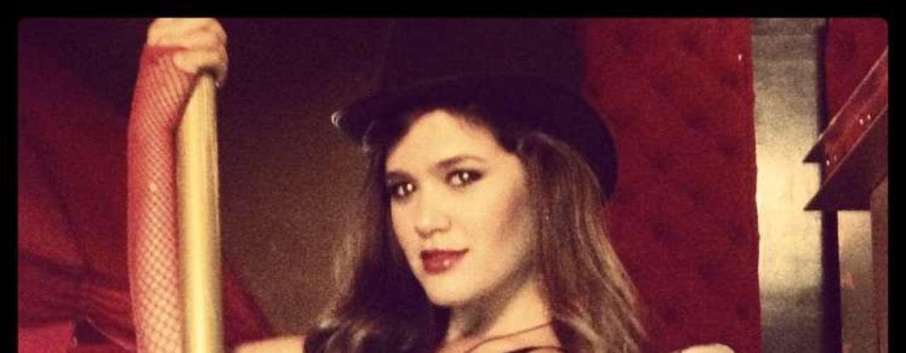 La actriz Daniela Tapia. A pesar de no ser colombiana, esta mujer ha sido incluida por los lectores de la revista Tv y Novelas en el grupo de las finalistas a Mejor Cola.