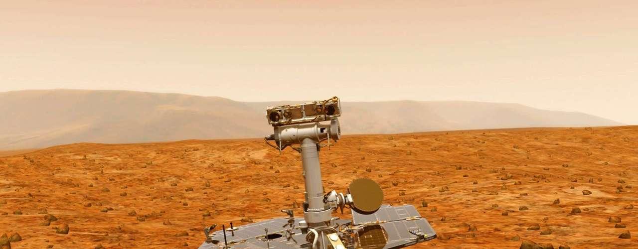 """Después de todo, los grandes éxitos de la Nasa explorando Marte se dieron hace muy poco, después del año 2000. A partir de esa fecha surgió """"un ambiente menos riesgoso"""", según McCuistion; lo que permitió que se analizaran docenas de muestras extraídas de las rocas y el suelo."""