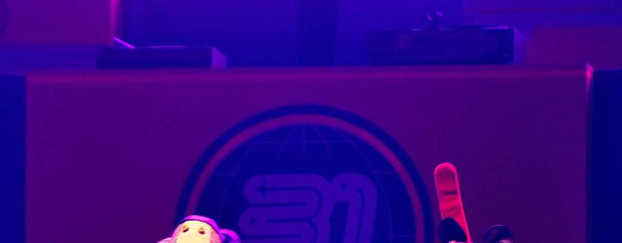 En el primero de los cuatro shows agendados en Movistar Arena como parte de su \