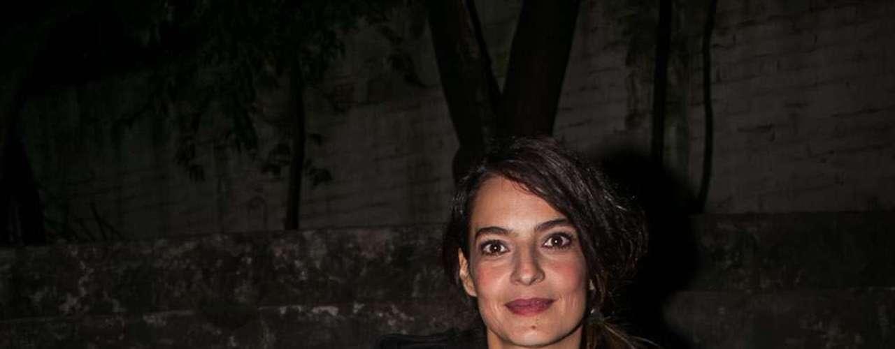 La actriz y escritora Patricia Castañeda estuvo presente en la celebración de la ley que beneficiará el sector cinematográfico y audiovisual.
