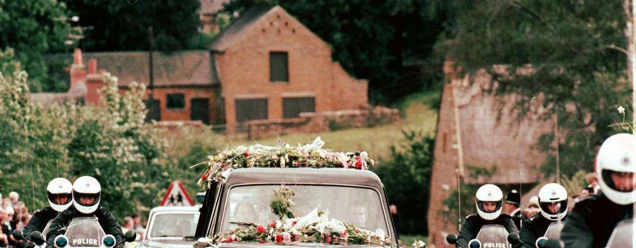 El funeral de la princesa Diana está en el cuarto lugar.