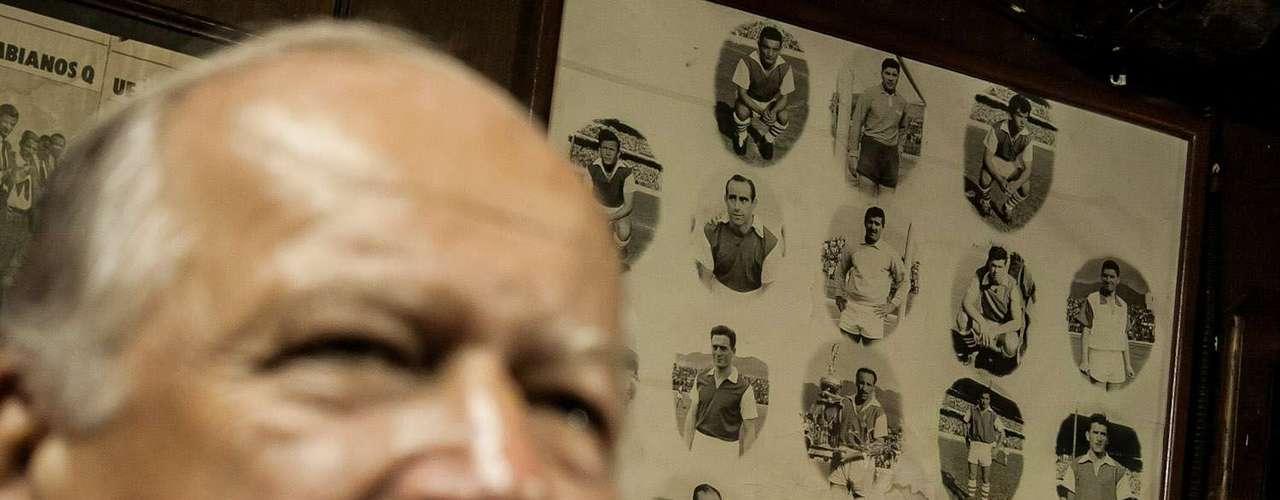 En el 58 y 60 salió campeón con el cuadro 'cardenal', bajo el mando de Julio Tocker.