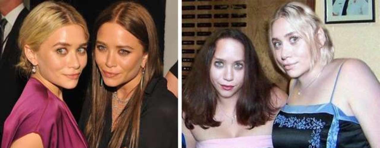 Las famosas gemelas Mary Kate y Ashlee Olsen lucen, en esta transformación, un cuerpo totalmente alejado de la realidad.