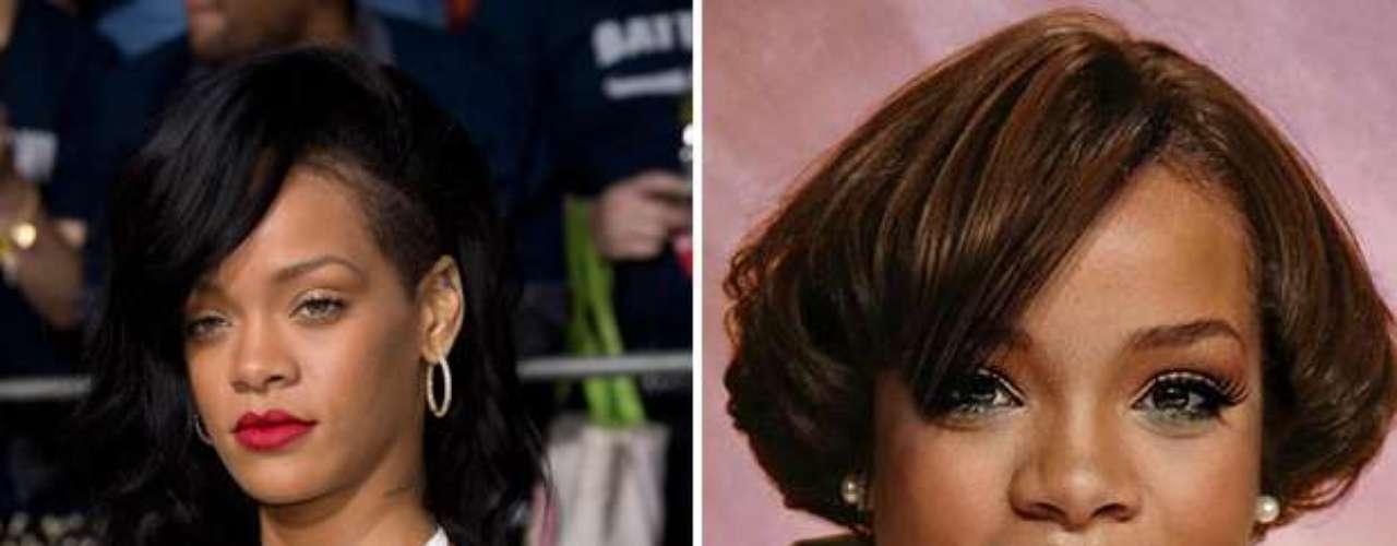Rihanna - Estas celebridades tienen todo el potencial para ser bellos pero la página en facebook Planet Hiltron ha encontrado la manera de bajarlos de su pedestal y revelar su identidad si no fueran famosos, sin los millones para tratamientos, estilistas ni la disciplina del ejercicio y la buena alimentación. ¿Cuál es tu transformación favorita?