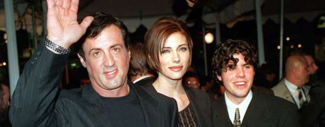 Sylvester Stallone's 36-year-old son, Sage Moonblood Stallone, was found dead in his Los Angeles area home in July 2012.  Initial investigations by the Los Angeles County coroner's department stated there weren't signs of foul play in his death.  Sage's attorney, George Braunstein, said a housekeeper found his body at the home.  Sage, the oldest of Sylvester's children, co-starred with his dad in two films: 1990's \
