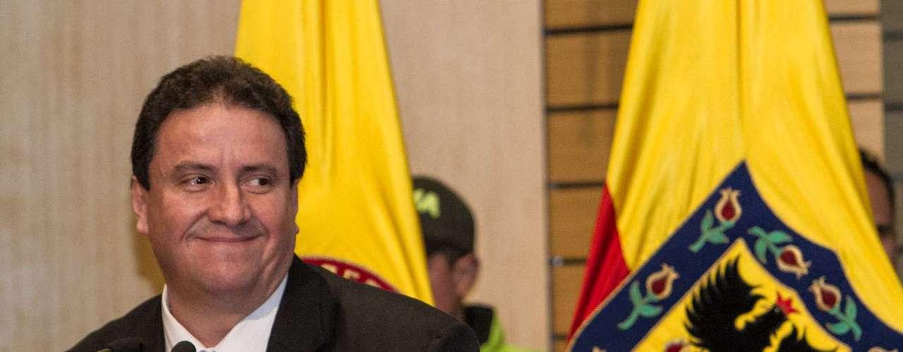 El presidente de Santa Fe, Cesar Pastrana, encabezó al equipo y dio unas emotivas palabras.