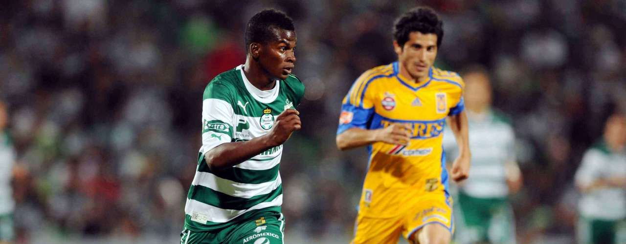Carlos Darwin Quintero is the engine behind defending Champions Santos.