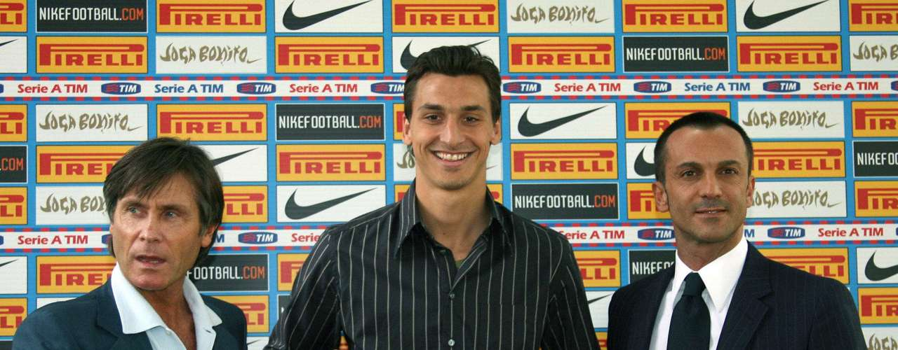 Inter (2006-2009): After 2 seasons with Juventus, the then 25-year-old moved to Inter for 24.8 million euros.