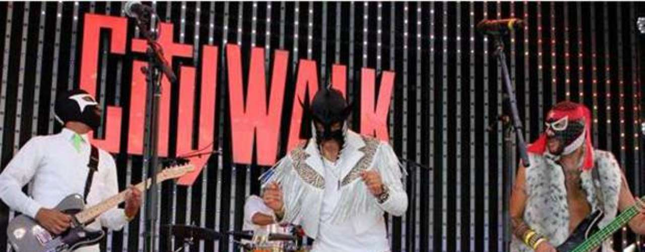 El Conjunto Nueva Ola participó en el show Descarga 2012.