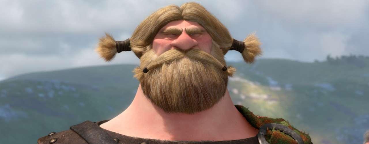 'Lord MacGuffin' es un hombre de pocas palabras, aunque su voz resuena siempre que necesita imponer respeto entre los líderes de otros clanes.