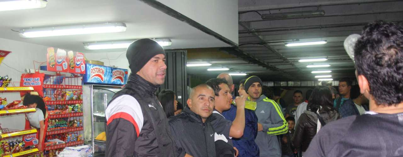 Germán Centurión (i) y Omar Pérez (d), hombres campeones con Independiente Santa Fe en la Liga Postobón I - 2012.