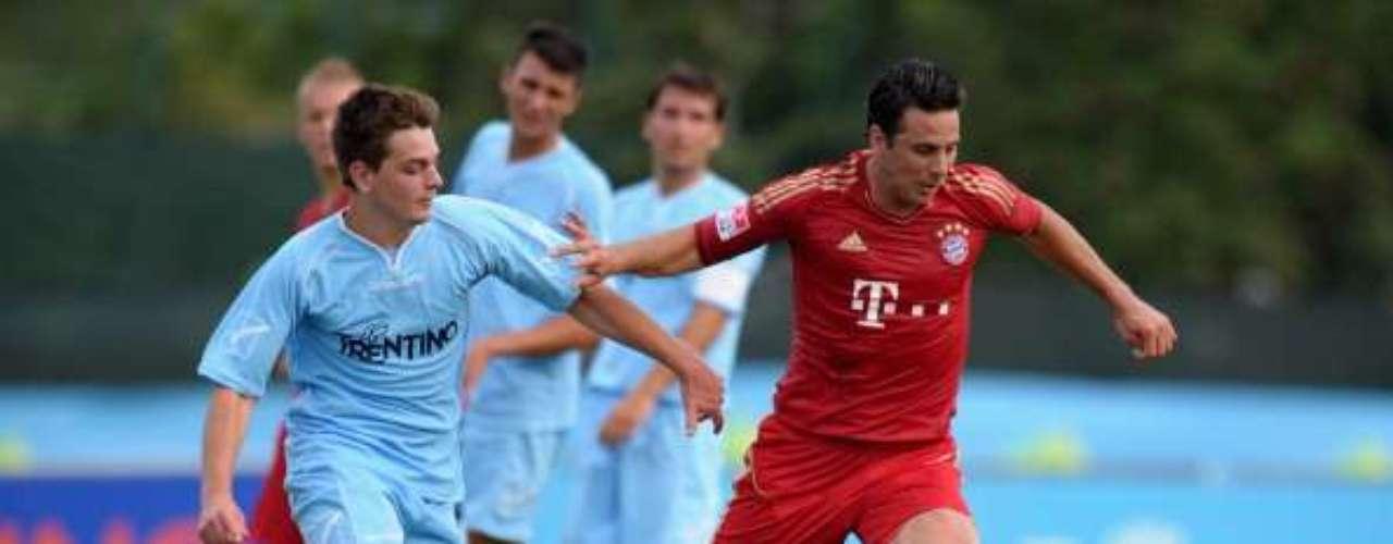 El peruano Claudio Pizarro disputará sus últimas temporadas en Europa con el Bayern Munich, con el que brilló durante la década anterior.