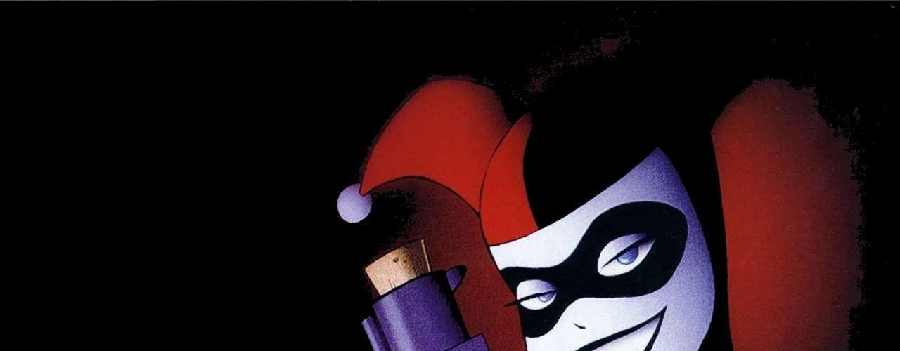 Harleen Quinzel - Harley Quinn. Es una de las enemigas más reconocidas de Batman en el comic y en las series animadas de televisión, reconocida por ser la eterna enamorada del 'Guasón'. Su nombre se asemeja a su vestuario y su personalidad propios de un arlequín.
