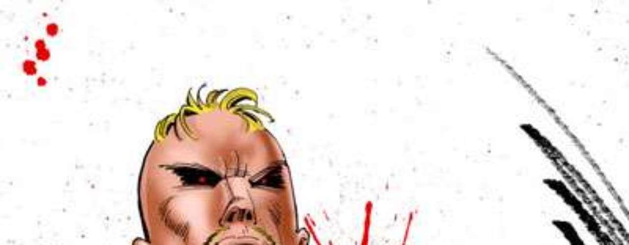 Victor Zsasz  Mr. Zsasz. Aunque en  el film Batman Begins (2005), este villano aparece brevemente como un criminal al servicio de Carmine Falcone, juzgado en los tribunales y luego escapando del Asilo Arkham, se espera que aparezca en futuras películas, con una historia más trascendental.  Cada vez que este asesino en serie acaba con la vida de una persona, se hace un corte con un cuchillo en su cuerpo.