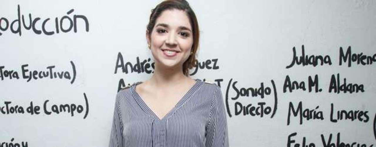 Angela Llano, asistente de produccion de Mimosa.