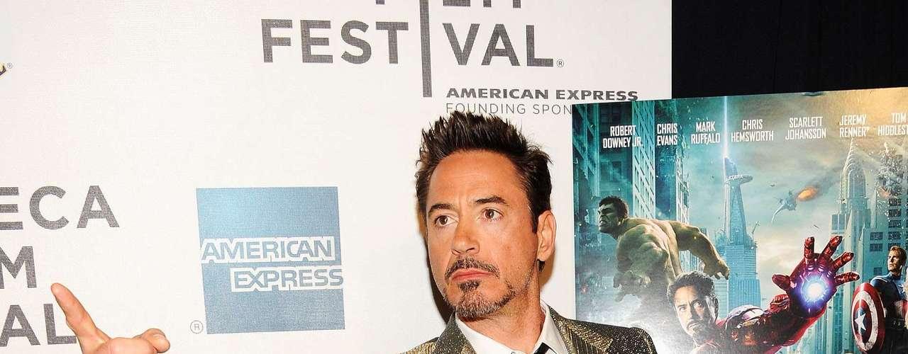Robert Downey Jr no necesita ser muy alto para ser un superhéroe, Iron Man mide 1,73 (5'8\