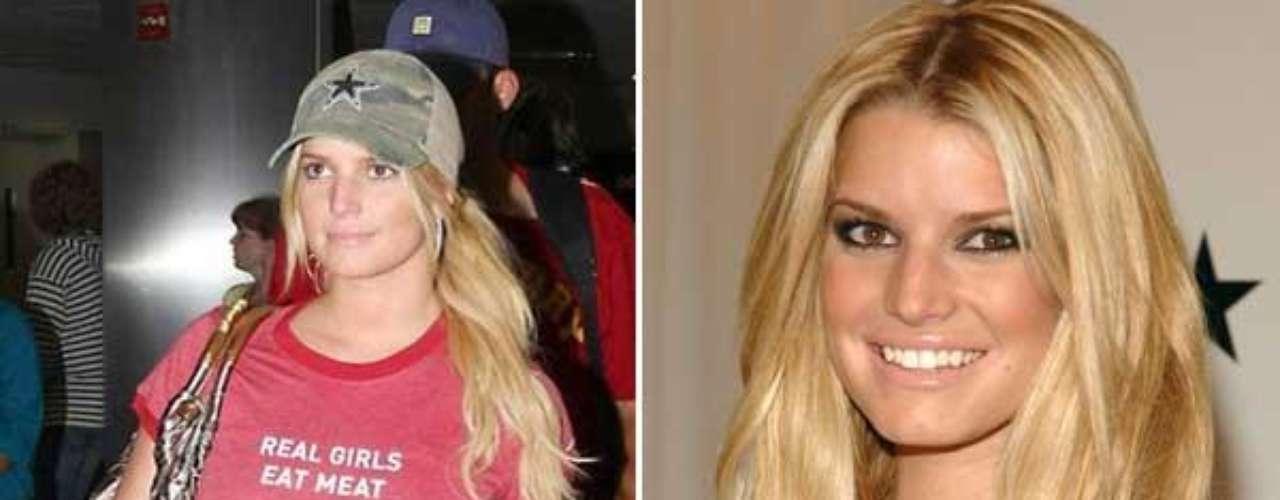Dicen que Simpson se puso esa camiseta porque la ex de su novio Tony Romo, la también cantante Carrie Underwood, ha sido nombrada dos veces por la PETA como \