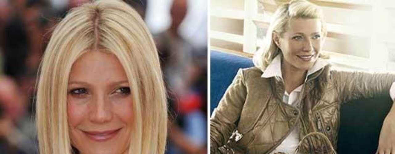 Gwyneth Paltrow fue objeto de las críticas de Peta por ser la imagen de una compañia que vende artículos de cuero \