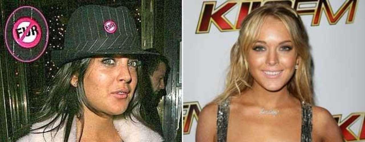 Lindsay Lohan no escapó al enfrentamiento con PETA. La actriz , allá por 2006 firmó un contrato publicitario con Miu Miu y apareció en una fiesta en Londres con un abrigo de imitación de pelo blanco y una inscripción en su sombrero que decía No fur.