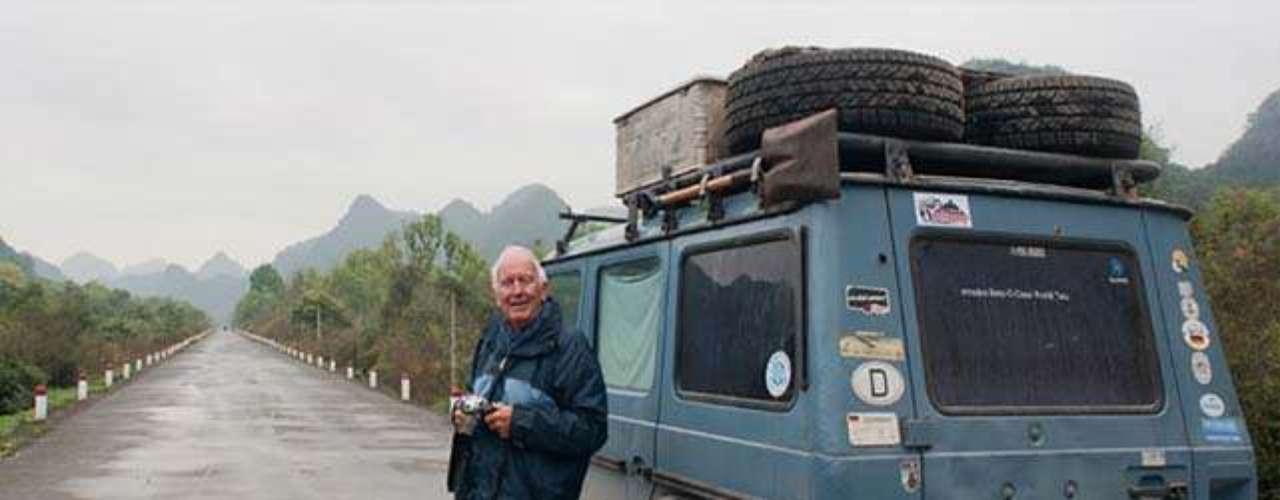 El viaje de 23 años de Gunter y su carro \