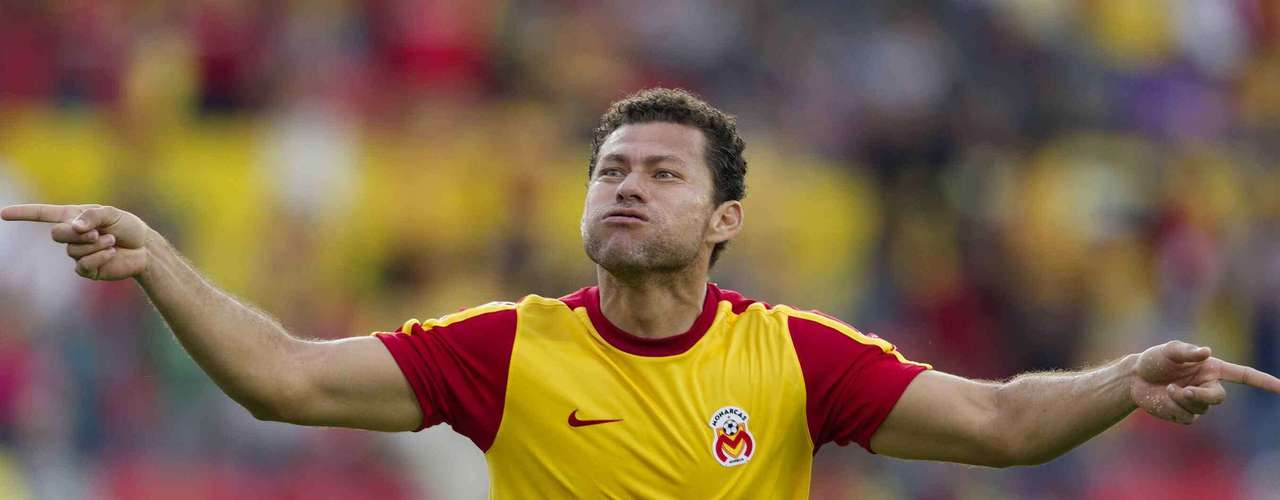 Forward- Miguel Sabah - Morelia. His goal gave the Monarcas the win.