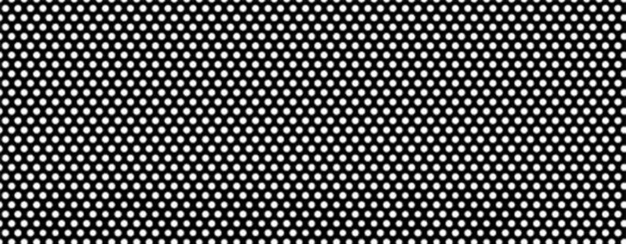 5.- Soulwax: Any Minute Now (2004). De cerca, este diseño de Trevor Jackson simplemente se ve como puntos blancos sobre una malla negra. Pero si te alejas se puede divisar sutilmente el nombre del álbum y de la banda. ¿Ingenioso verdad?