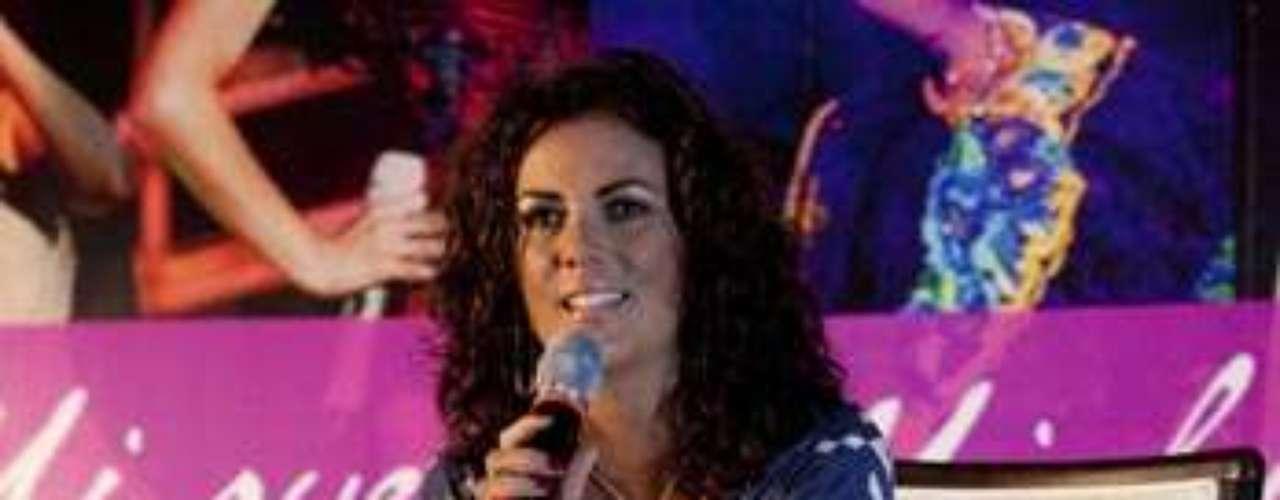 Edith Márquez aseguró, durante la presentación de del disco \