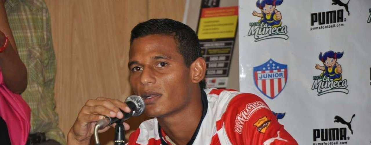 Diego Amaya dijo que todo costeño siempre soñará jugar en el Junior de Barranquilla.