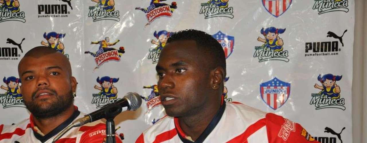 Carlos Rentería comentó a los medios que su objetivo es ser goleador del Junior de Barranquilla.