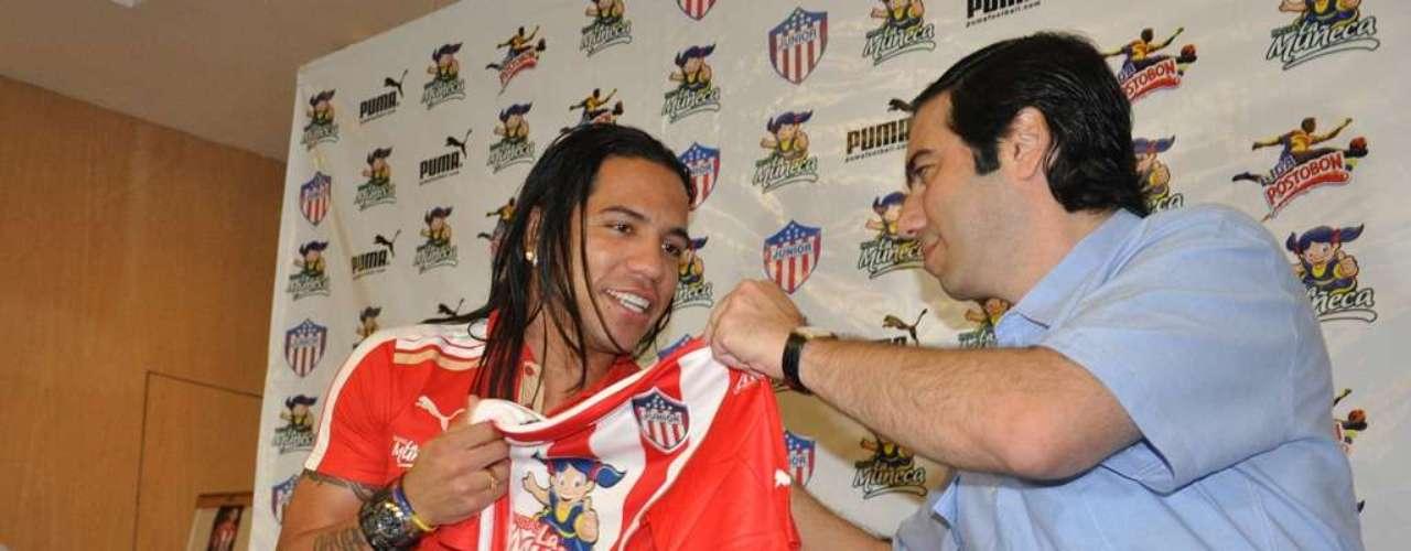 Dayro Moreno se mostró contento por el ser contratado por el Junior de Barranquilla.