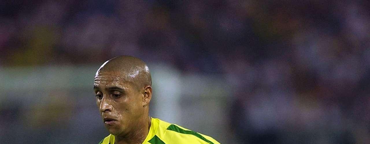 Roberto Carlos siguió siendo referente de la selección de Brasil y estuvo en el Mundial de Corea-Japón 2002.