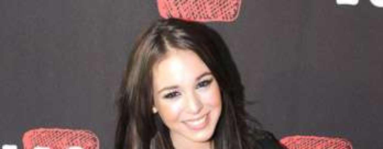 Danna Paola, saltó a la fama en el año 2000, cuando apenas tenía cinco años, en el programa \