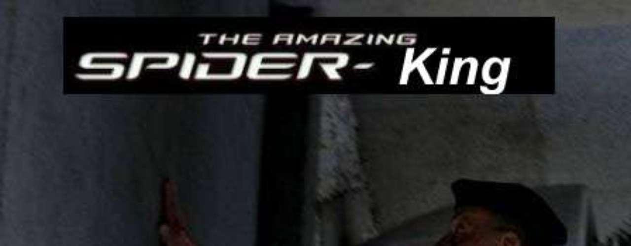 The Amazing Spider-King, es decir, el increíble hombre araña.