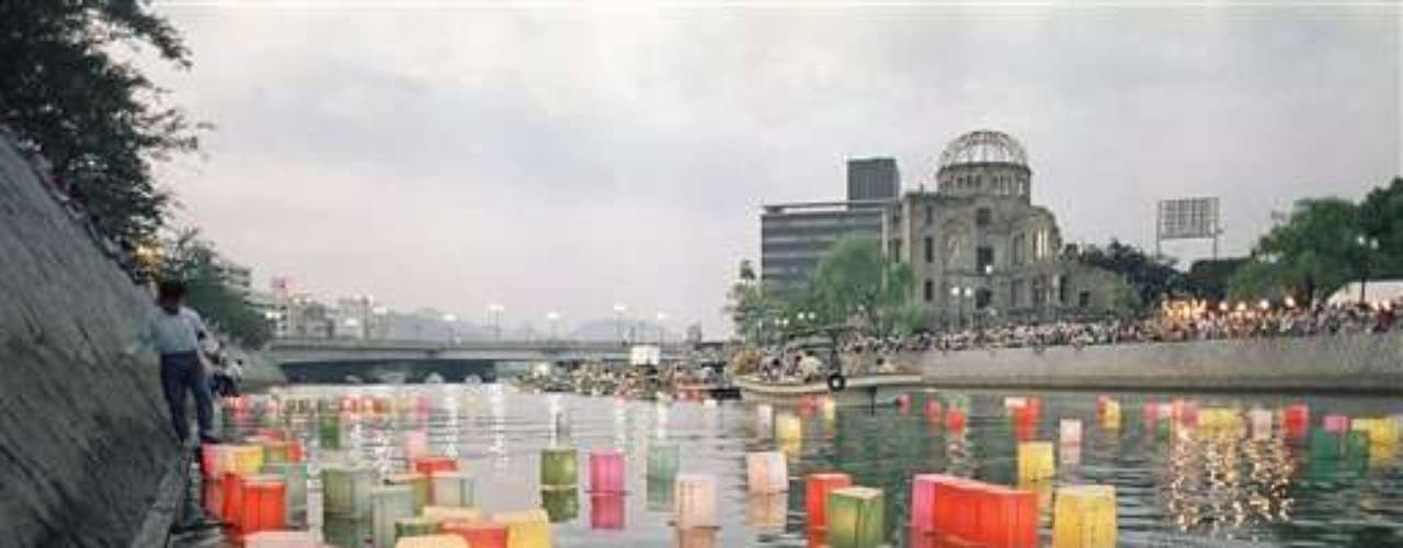Hiroshima conmemoró el lunes el 67mo aniversario del primer ataque con bomba atómica del mundo con un exhorto a la eliminación de los arsenales nucleares.