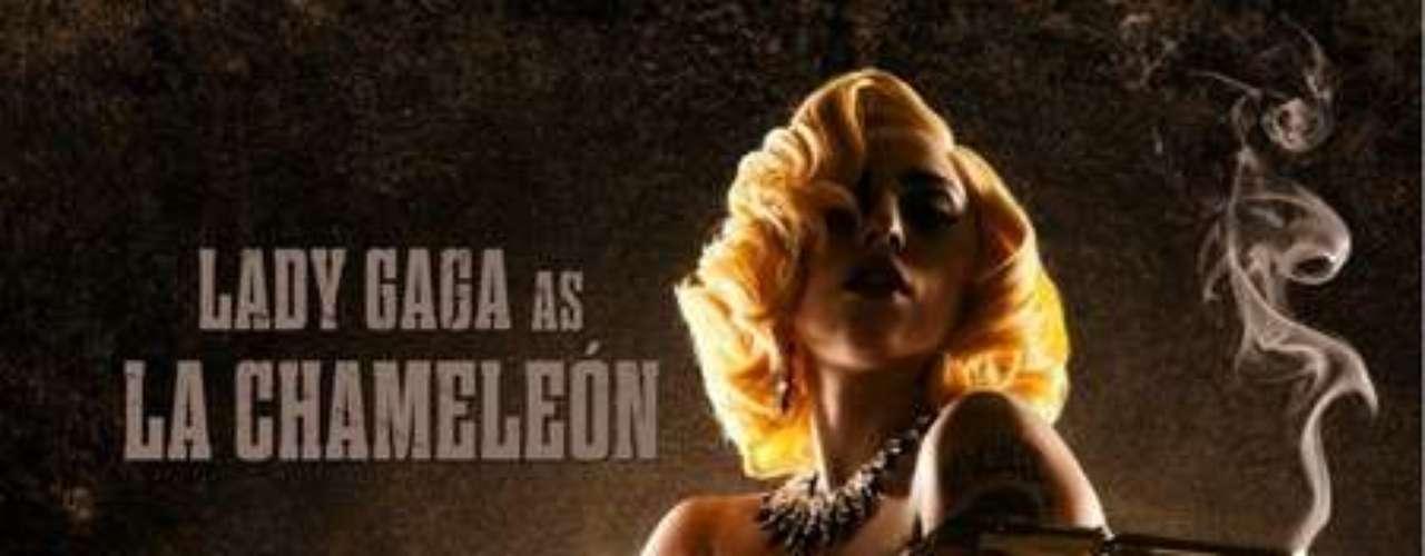 Lady Gaga también se dejó seducir por Robert Rodríguez y hará su debut en el cine en 'Machete Kills'
