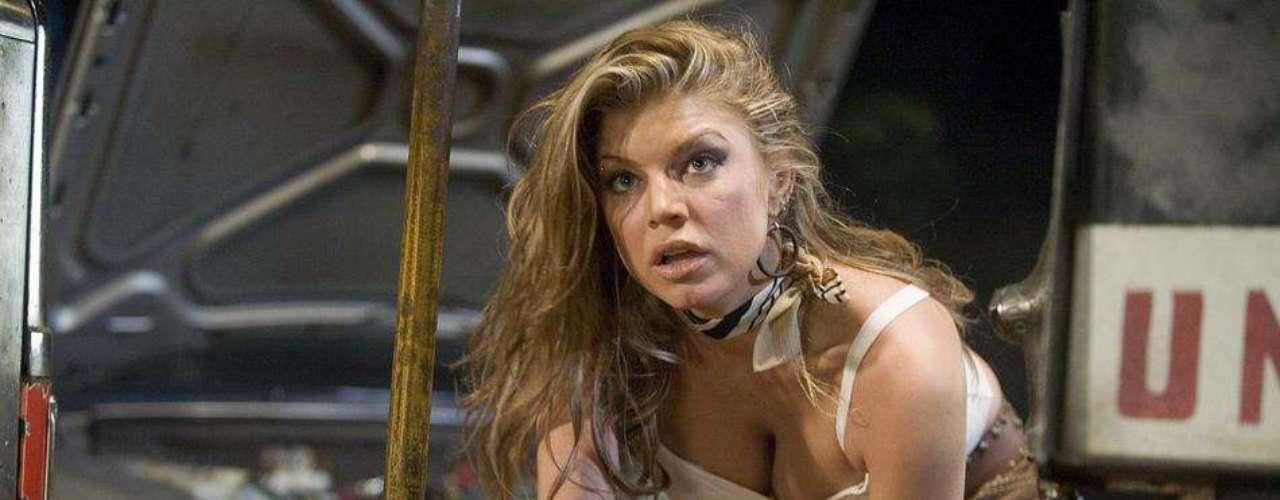 Fergie dejó de lado la música para ser dirigida por Rodríguez en 'Grindhouse'