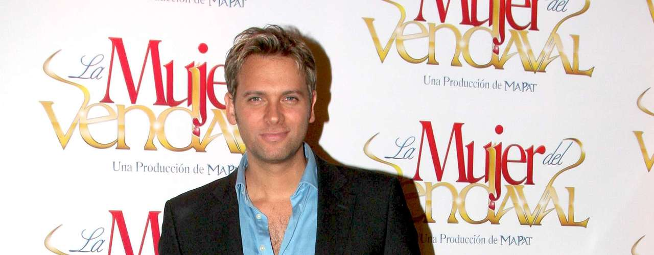 Patricio Borgetti fue de los últimos actores en integrarse al elenco de 'La Mujer del Vendaval'. Él dará vida al mejor amigo de José Ron.